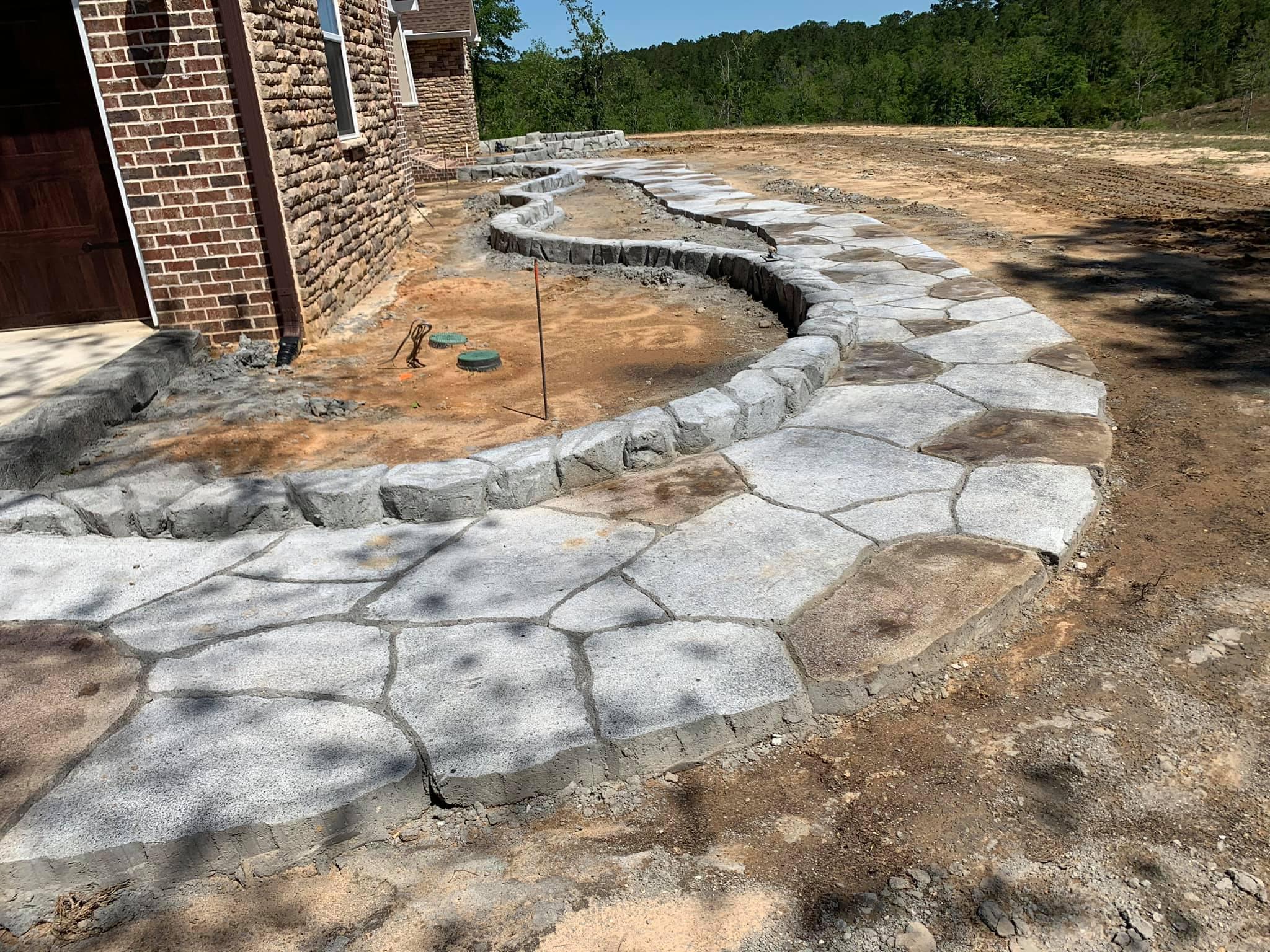 Flatwork Walkway