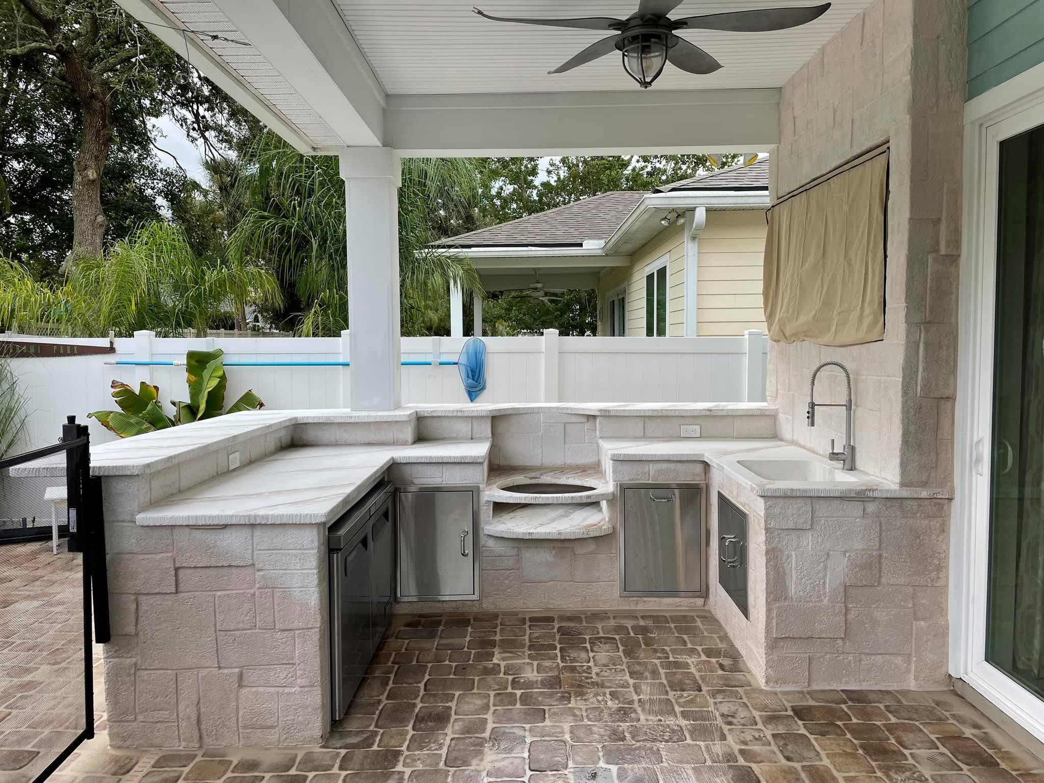 Outdoor kitchens - dugybear outdoor living